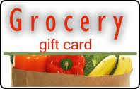 Grocery gift card