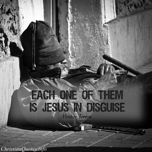 Caring for Jesus in Disguise