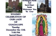 Solemn Celebration of Our Lady of Guadalupe