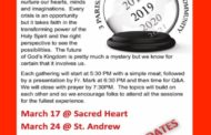 3 Parishes - 3 Sundays of Lent - 1 Community