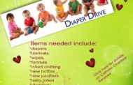 Catholic Charities Diaper Drive